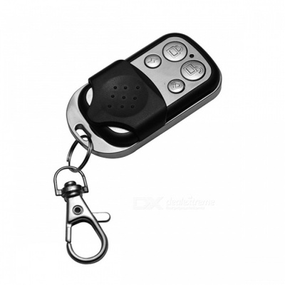 A002-433 433MHz 4-Key Universal Anti-theft Remote Key for Car - Black