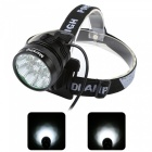Marsing B90 9-LED 3-Mode Cold White Bike Light / Headlamp (6*18650)