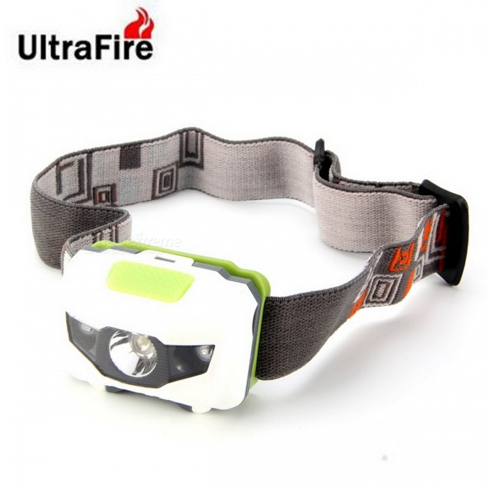UltraFire Mini LED 4-Mode 80lm Super Bright Headlamp (3*AAA)