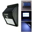 IN-Color IN-T8 Triangle Shaped 0.8W LED Solar Motion Sensor Light