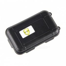 EDCGEAR Water & Shock Resistant Sealed Storage Case Box - Black (S)