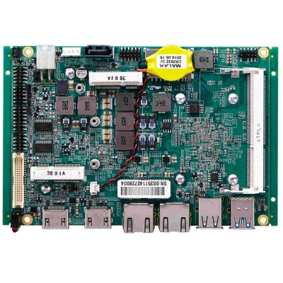 "3.5"" Motherboard with Embedded G-Series SOC PCM-G351"
