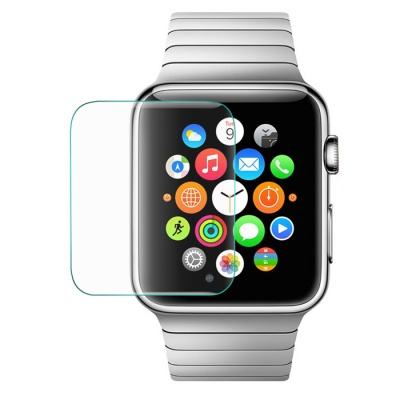 LINK DREAM Tempered Glass Screen for Apple Watch 42mm - Transparent