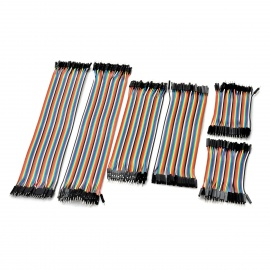 40P Male to Male + Male to Female Jumper Cable Kit (30cm/20cm/10cm)