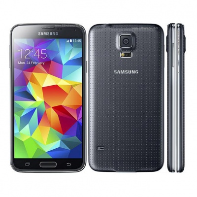 """Samsung Galaxy S5 G900F 4G LTE 5.1"""" Android Smartphone with 2GB RAM, 16GB ROM - Black"""