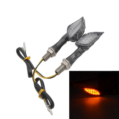 Skull Ghost Hand 1W 112lm 12-LED Yellow Motorcycle Lamp (12V)