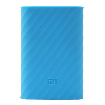 Xiaomi Protective Silicone Case for Mobile Power Bank 10000mAh - Blue
