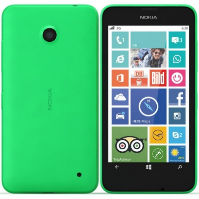 Nokia Lumia 630 Smart Mobile Phone-Green