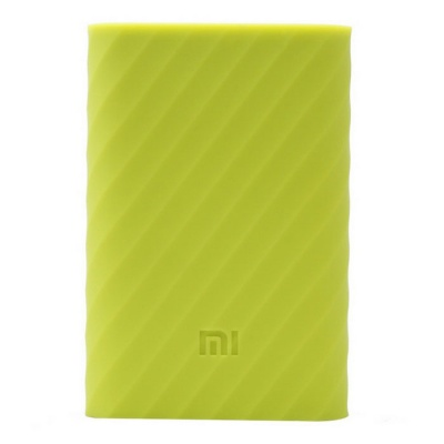 Xiaomi Silicone Case for Mobile Power Bank 10000mAh - Yellowish Green