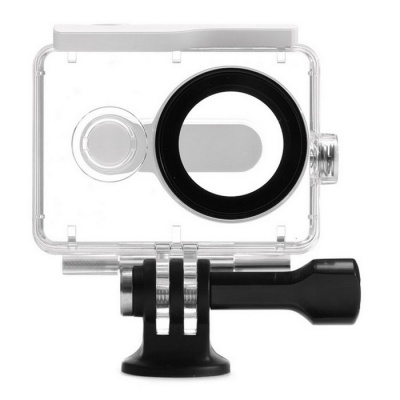 Xiaomi Waterproof Housing Case for Xiaomi Xiaoyi - White + Transparent