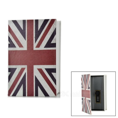 UK Flag Money / Jewelry / Diary Storage Coin Bank Box - Multicolor (S)