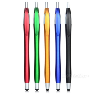 Kinston Capacitive Touch Screen Stylus Ballpoint Pen - Multicolor