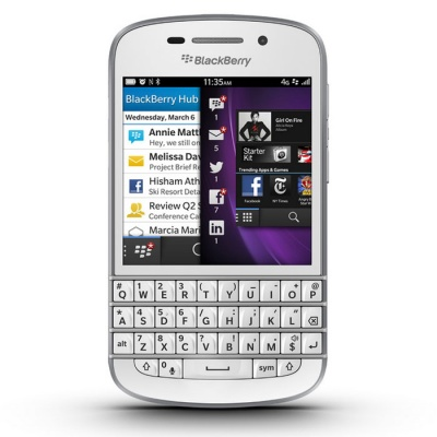 Blackberry Q10 16GB ROM Smart Phone-White