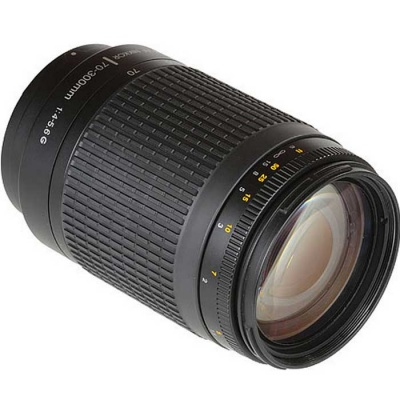 Genuine Nikon AF Zoom-Nikkor 70-300mm f/4-5.6G Lens
