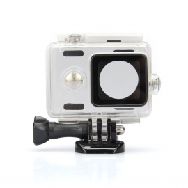 Kingma Waterproof Housing Case Shell for Xiaomi Xiaoyi - White