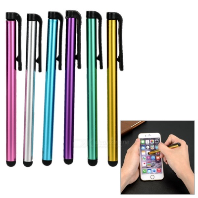 Kinston 6-in-1 Touch Screen Stylus Pens for IPHONE + More - Multicolor