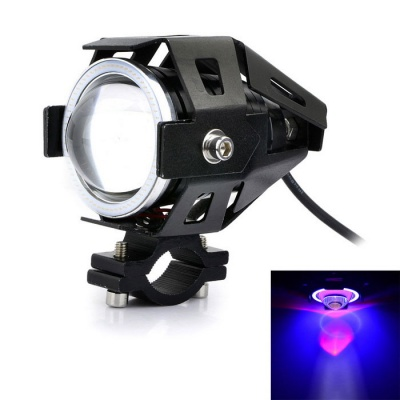 Marsing U7 30W 6500K 3-Mode LED Cool White Light Car Headlight - Black