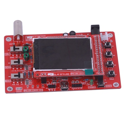 "ZnDiy-BRY DSO138 2.4"" TFT LCD Digital Oscilloscope - Red"
