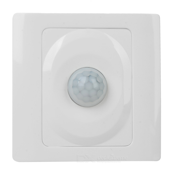 Wire System Wall Mount PIR Motion Sensor Switch (180~240V)