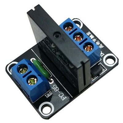 1-CH 5V 240V 2A SSR Solid-State Relay High Level Trigger Module