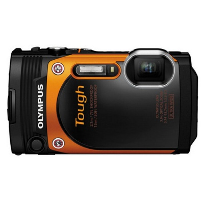 Genuine Olympus TG860 Waterproof and Shockproof Digital Camera - Orange