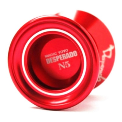 Magicyoyo N5 Aluminum Alloy Professional Yo-Yo Toy - Red