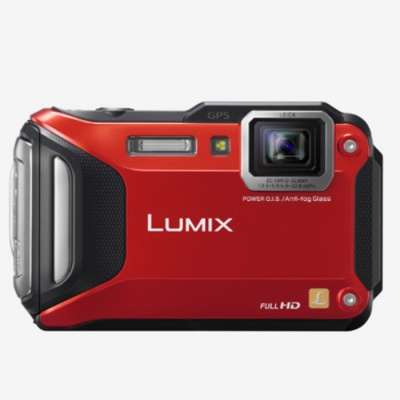 Panasonic DMC-FT6 Lumix Camera-Red