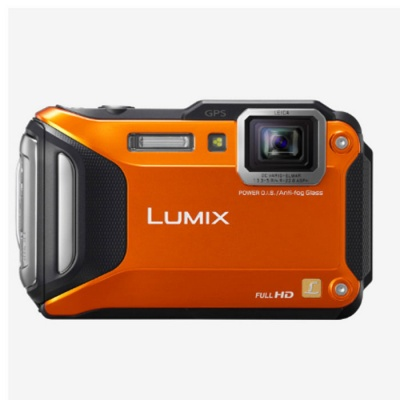 Panasonic DMC-FT6 Lumix Camera-Orange