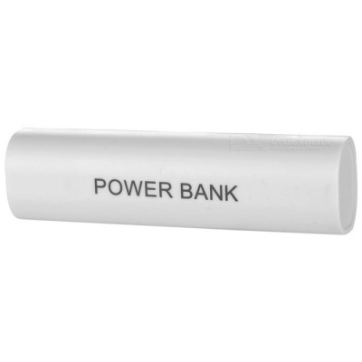 Cwxuan Push-Pull Style 1*18650 Power Bank Case for IPHONE - White