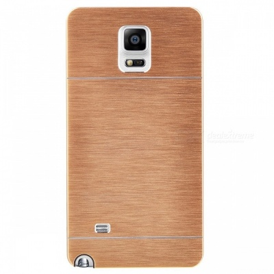Kinston Aluminum Alloy Case for Samsung Galaxy Note 4 - Golden