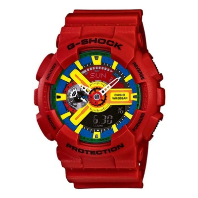 Casio G-Shock GA-110FC-1ADR Watch-Red