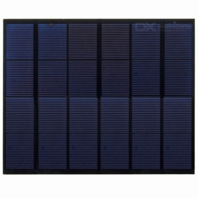 5V USB 3.5W Solar Panel Charger for Smart Phones - Black + White