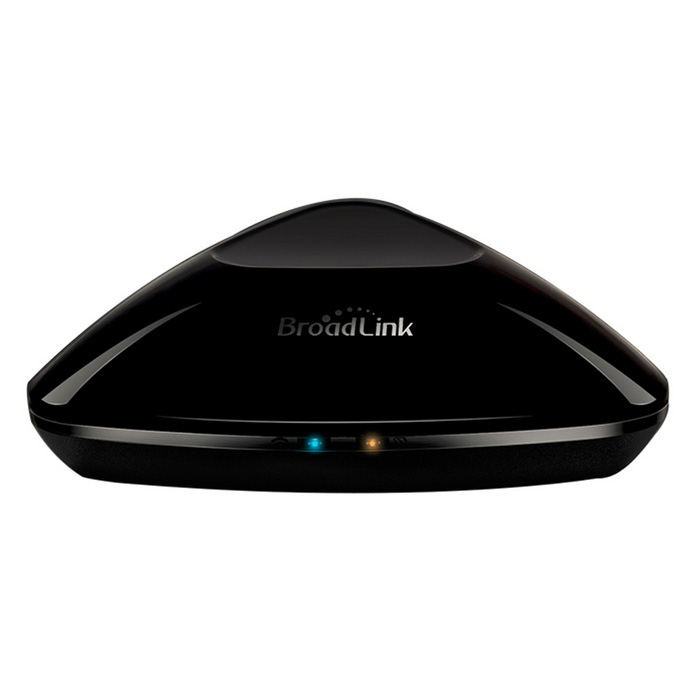 Broadlink RM-Pro Smart Wi-Fi IR / RF Remote Controller for iOS,Android - Black (EU Plug)