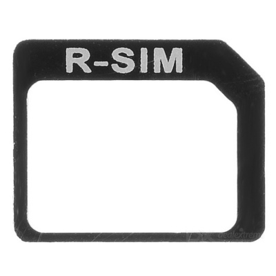 Nano to Micro Sim Card Adapter for IPHONE - Black