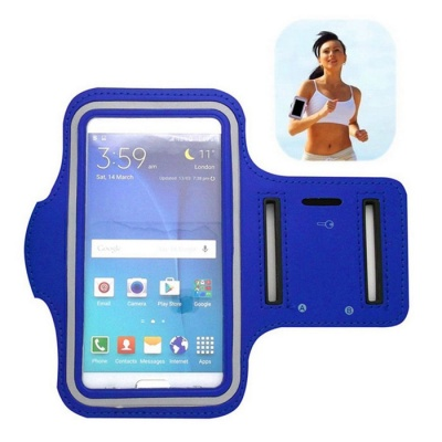 Sports Armband for Samsung Galaxy S6 / S5 / S4 - Blue