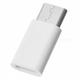 USB 3.1 Type-C Male to Micro USB Female Adapter - White