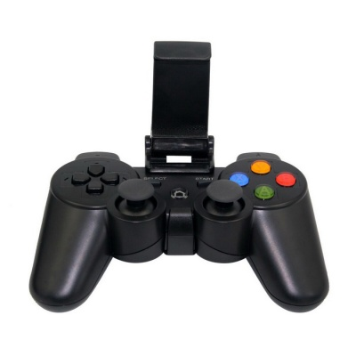 N1-3017 Fashion Bluetooth Wireless Game Controller - Black