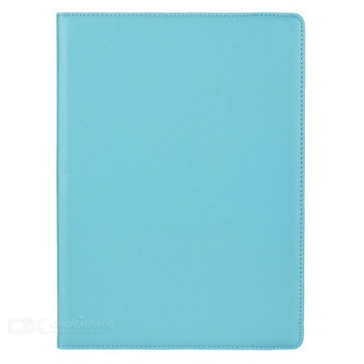 "Lychee Pattern 360' Rotary Case for IPAD PRO 12.9"" - Light Blue"