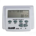 FSK / DTMF Caller ID Box + Cable Phone Adjustable LCD Display Screen