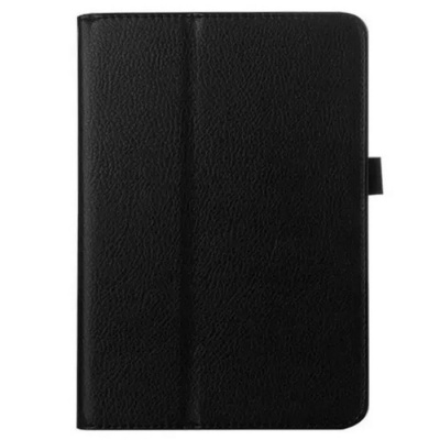Protective PU Case w/ Stand / Smart Sleep for IPAD MINI 4 - Black