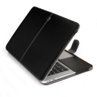 """Protective PU Leather Case for Apple MacBook Air 11.6"""" - Black"""