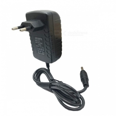 12V 2A Universal Power Adapter Charger - Black (EU Plug / 3.5*1.35mm)