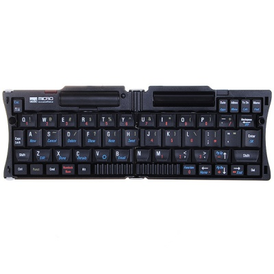 Foldable Bluethooth 2.0 Wireless Keyboard Set for Cellphone (1*AAA)