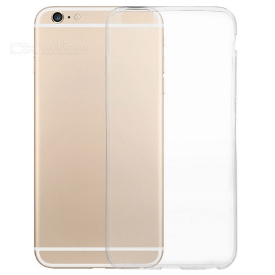 Silicone Back Case + Screen Film for IPHONE 6PLUS/6S PLUS -Transparent