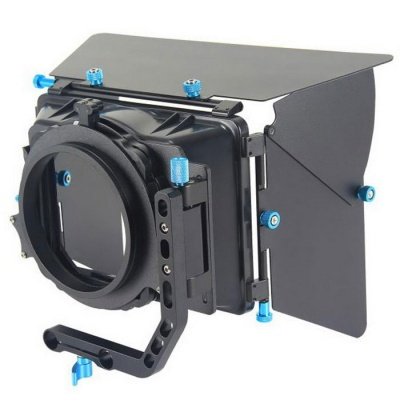 YELANGU DSLR Matte Box 4*4 Filter Trays for 15mm Rod 5dmkii 7d 60d