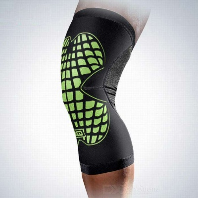 MLD LF1125 Cycling Protective Warm Nylon Kneecap - Green (L)