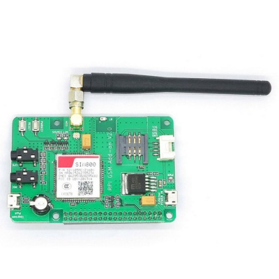 Sim800 Expansion Board with GSM/GPRS, SMS for Raspberry Pi 2B/B+