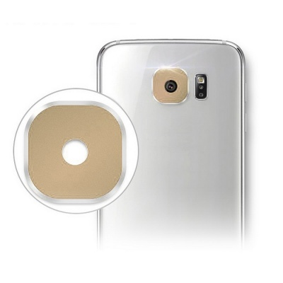 Hat-Prince Lens Cover for Samsung Galaxy S6 / S6 Edge - Golden