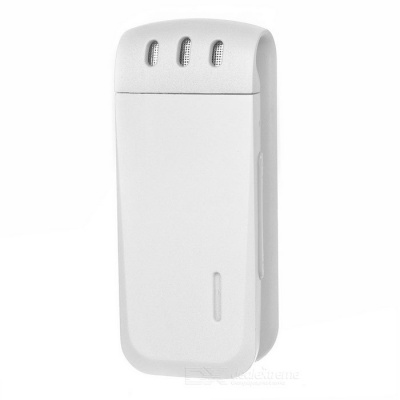 16GB High Quality Back Clip-On Digital Voice Recorder - White