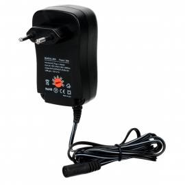 Universal Adjustable 30W 3/4.5/5/6/7.5/9/12V Power Adapter w/ 2.1A USB